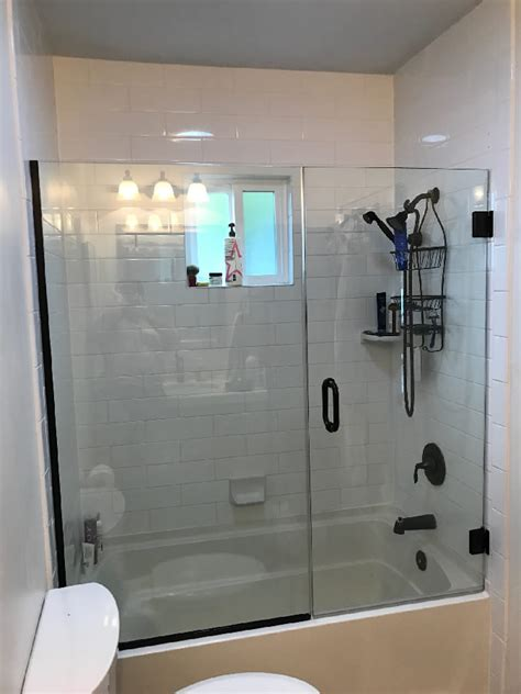 shower doors over bathtub over tub shower door patriot glass and mirror san diego ca