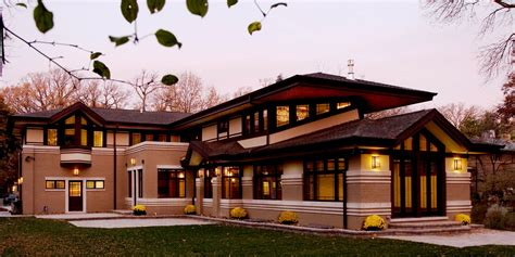 frank lloyd wright styles frank lloyd wright quot prairie style quot house 1025 forest 001