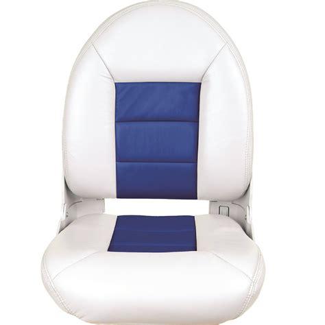 tempress navistyle high back boat seat tempress navistyle high back boat seat white blue