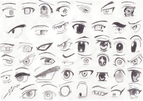 tutorial gambar karakter anime cara menggambar mata karakter manga belajar membuat manga
