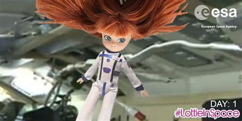 lottie doll in space stargazing lottie doll designed by 6 year arrives