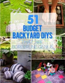 Easy Diy Backyard Ideas Ideas Products 51 Budget Backyard Diys That Are Borderline Genius