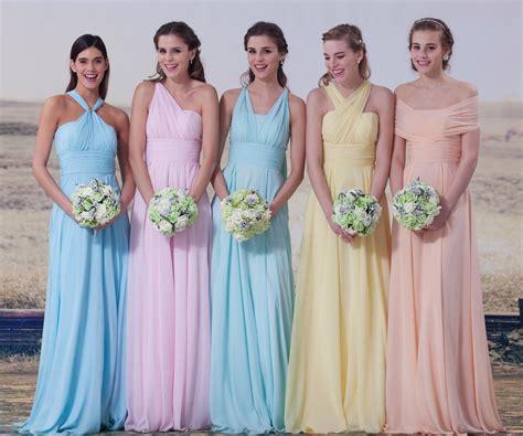 pastel color bridesmaid dresses pastel color bridesmaid dresses ideas