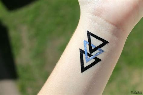cool triangle tattoo cool triangle sticker stickers