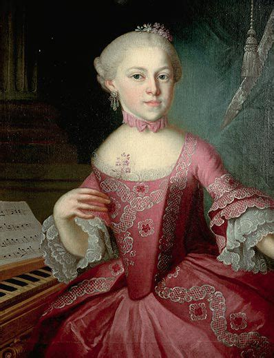 mozart little biography maria anna mozart the family s first prodigy arts