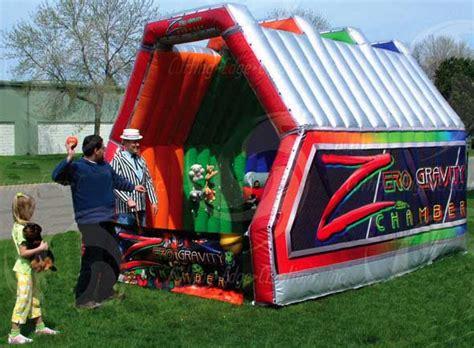 zero gravity chamber carnival brads bounce a lot