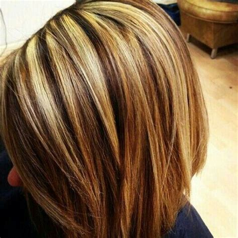 hi and low lights on layered hair bob hair with highlights and low lights short hairstyle 2013