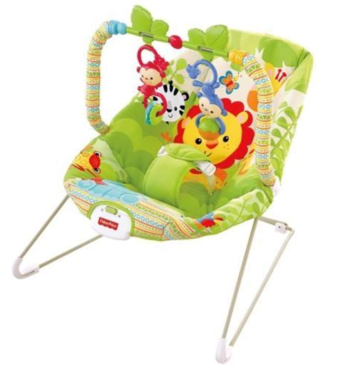 Fisher Price Vibrating Chair fisher price rainforest friends vibrating baby bouncer chair seat for