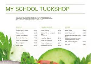 emenu menu my tuckshop