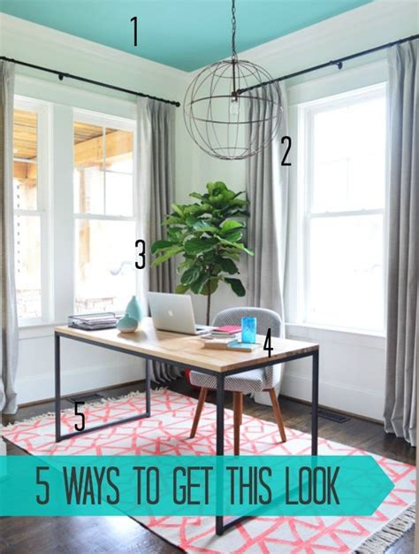 5 ways to get this look light filled office infarrantly