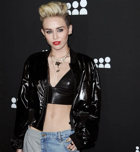 whats the haircut called that miley cyrus has miley cyrus i m happy to be called a lesbian metro news