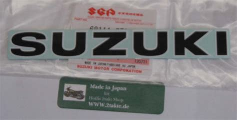 Suzuki Rv 50 Aufkleber by Hoffis 2 Takt Shop Emblem Aufkleber Suzuki F 252 R Rv