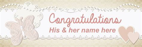 Wedding Banner Messages by Cbm Signs Directional Wedding Signs Personalised