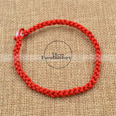 Braided Simple Style Lucky String Rope Cord Bracelet braided lucky string rope cord bracelet handmade adjustable ebay