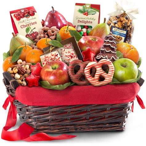 golden state fruit rustic treasures holiday christmas gift basket cheese and nuts delight fruit basket gourmet fruit gifts grocery gourmet food