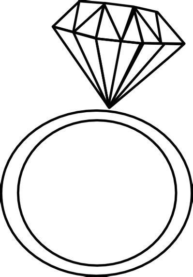 free ring clipart black and white image wedding ring clip