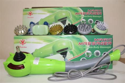 Alat Pijat Magic Massager magic massager 8in1 alat pijat badan dengan 8 kepala