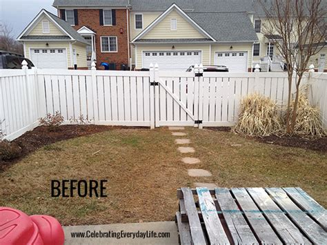 how to lay gravel in backyard my back garden before after celebrating everyday life