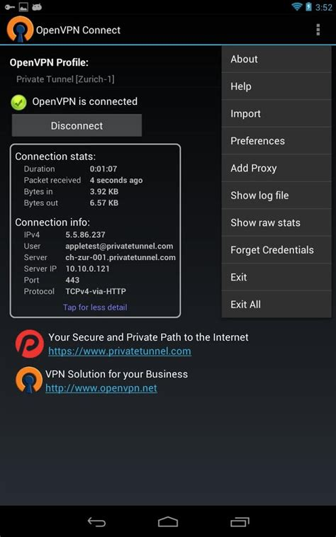 openvpn android descargar gratis openvpn connect gratis openvpn connect descarga android 1mobile es