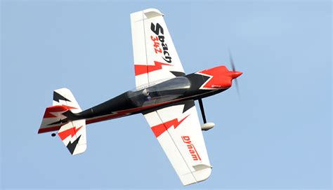 Kaos 3d Genethics Aerobatic Big Size dynam 4 ch sbach 342 aerobatic rc plane 1250mm arf rc remote radio