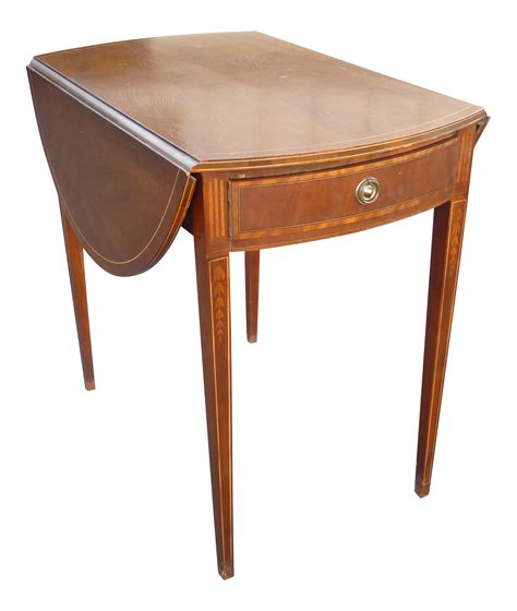 provincial side table vintage baker provincial side table chairish