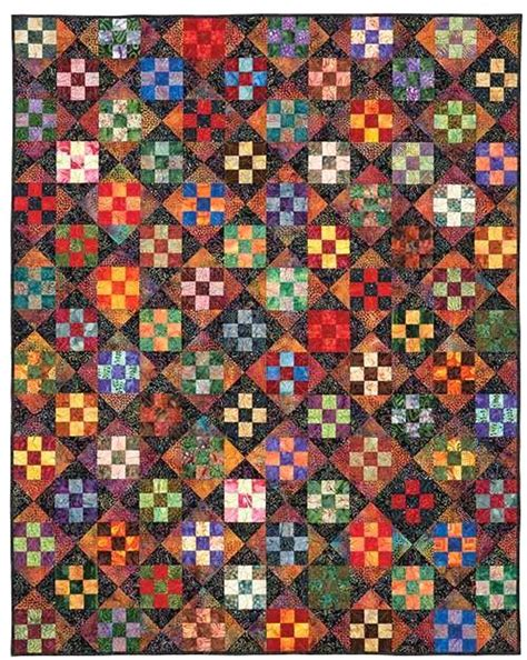 Twisted Nine Patch Quilt Pattern Free by Four Patch Quilts Patterns 4 Patch Quilt Ideas Twist And