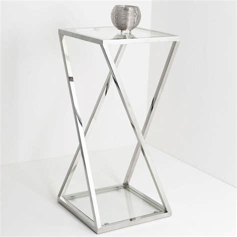 Tisch Kerzenständer Silber by Holl 228 Nder 209 2506 G Tisch Stellato Gross Edelstahl Glas