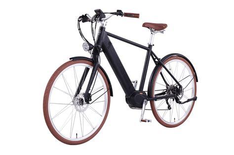 E Bike Classic 2 by E Bike Man In Black 2 0 Mittelmotor 350w Schutzblech
