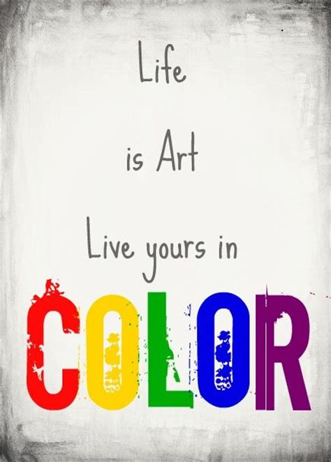 color live 55 best images about color quotes on hello