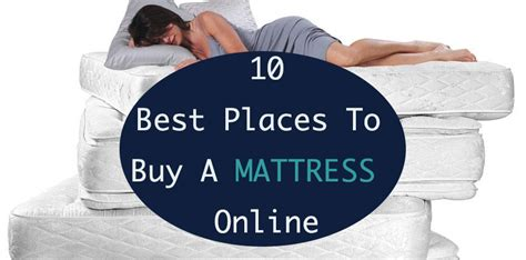 10 best places to buy a mattress