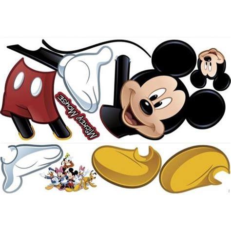 mickey mouse wall sticker mickey mouse wallsticker k 248 b dine wallsticker