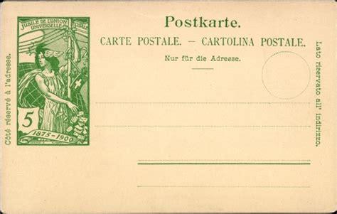 suisse helvetia entier postal carte entier postal carte postale jubil 233 de l union postale akpool fr