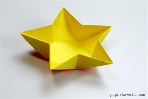 Origami Is - origami bowl paper kawaii