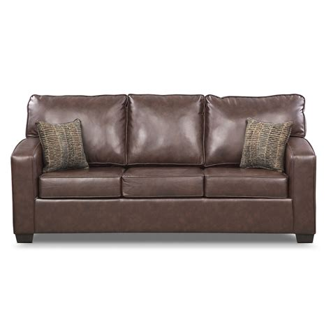 Memory Foam Sleeper Sofa Brookline Memory Foam Sleeper Sofa Value City