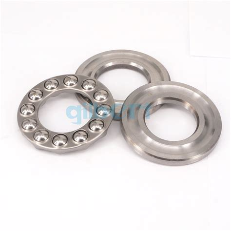 51412 60x130x51mm axial thrust bearing set 2 steel races 1 cage abec 1 ebay