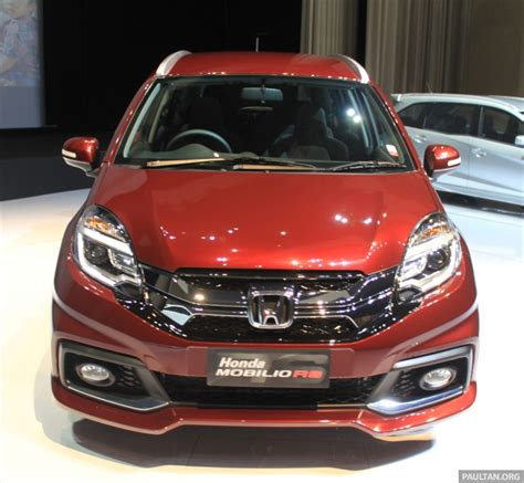 Spion Honda Mobilio Rs honda mobilio rs range topper launched in indonesia image 255008