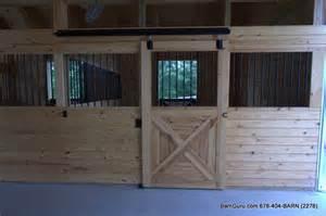 barn stall doors 4 stall barn build out barn builder in ga