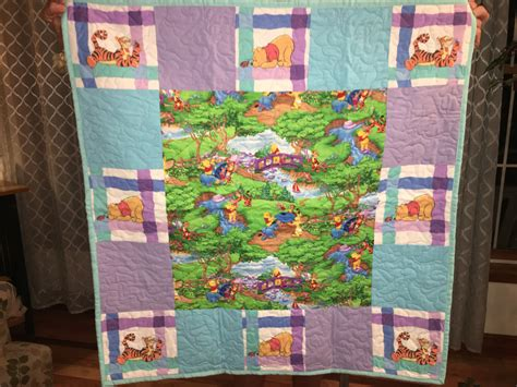 Winnie The Pooh Quilt Pattern by Winnie The Pooh Baby Quilt