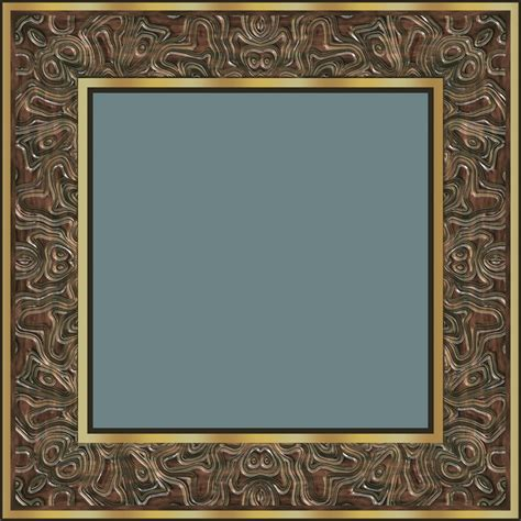 square picture frames fancy frame version c free stock photo domain pictures
