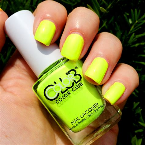 Not So Mellow Yellow by Color Club Poptastic Collection Swatches Hairspray And