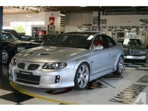 Pontiac Gto 2006 For Sale 2006 Pontiac Gto For Sale In Dublin California Classified