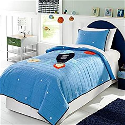 rocket ship bedding amazon com brandream space galaxy galactic rocket ship