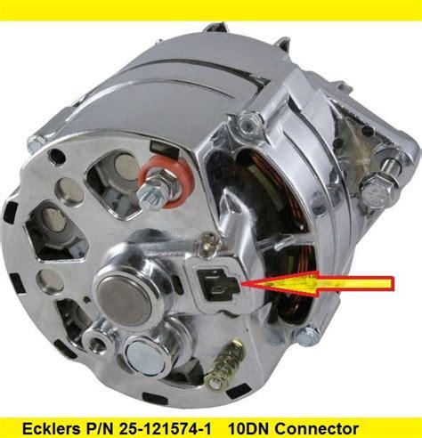 10dn alternator wiring diagram si alternator delco