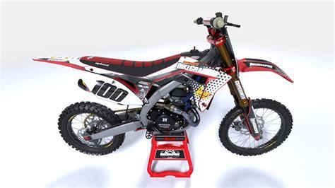 customize motocross honda pyramid semi custom motocross graphics bikegraphix