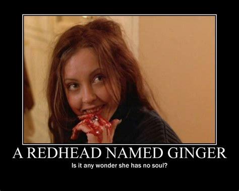 Ginger Snap Meme - ginger s demotivational poster by littleclover16 on deviantart