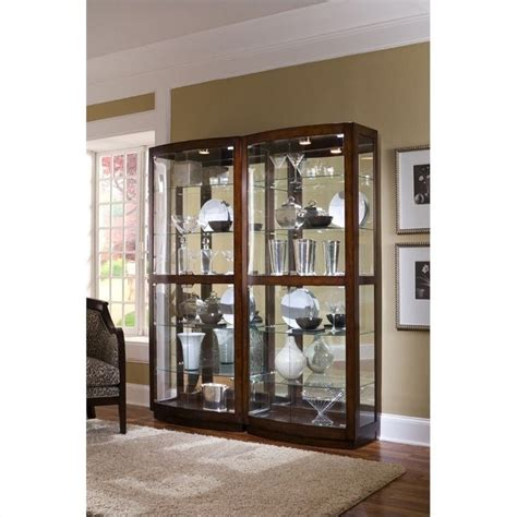 pulaski pacific heights curio cabinet pulaski pacific heights curio cabinet 21221