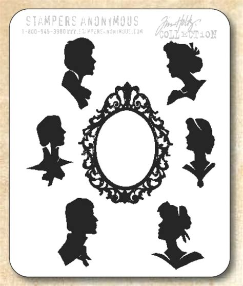 number rubber st tim holtz cling rubber st set artful silhouettes