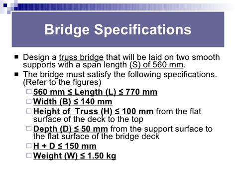 bridge design contest tips ces bridge building rules tips 2010