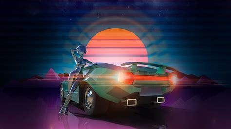 New Retro Games ? Retro Synthwave