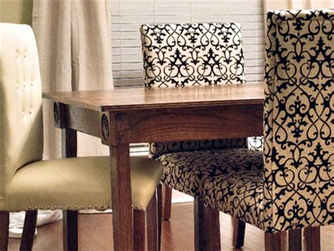 home dzine home diy upholster your made dining chairs